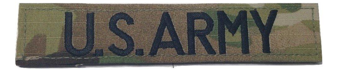 US Armyブランチテープ、またはファスナーwith縫製-、ACU、マルチカムOCP、ブラック、odグリーン、砂漠タン、ホワイト with Fastener JSM ! with Fastener Multicam OCP B077R1RH36