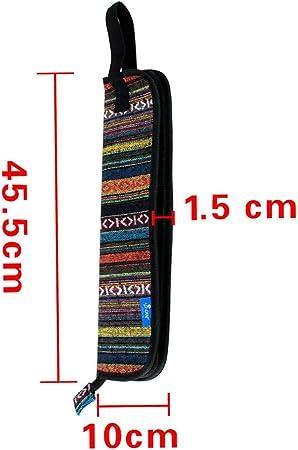 Dilwe Bolsa para Baquetas de Bater/ía Hanging Bag Baquetas Accesorios Bolsa de Mano