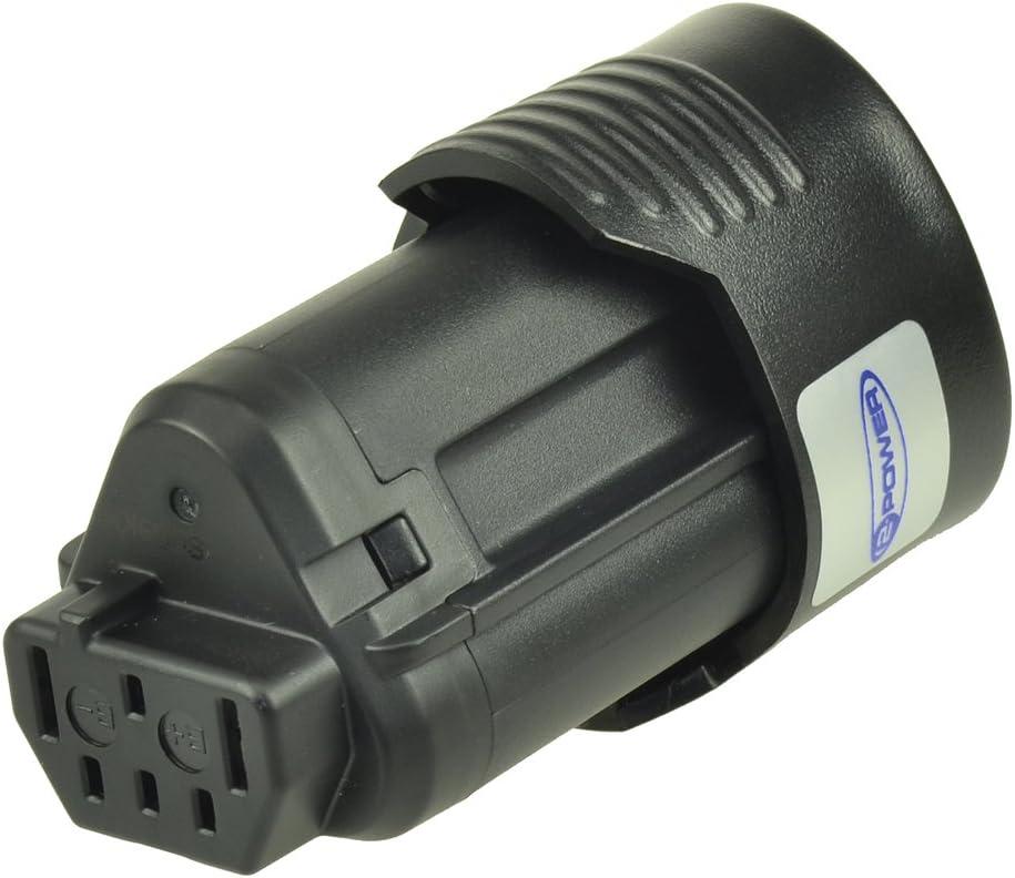 2-Power PTI0137A Bater/ía recargable iones de litio, Herramienta el/éctrica, Negro, AEG BS 12C, 1500 mAh
