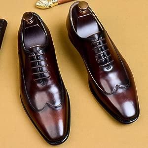 Zapatos Oxford para Hombre Confort Negro De Trabajo con ...