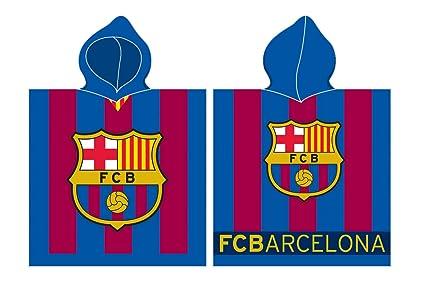 FC Barcelona Poncho 60 x 120 cm Rizo Poncho toalla fcb8001