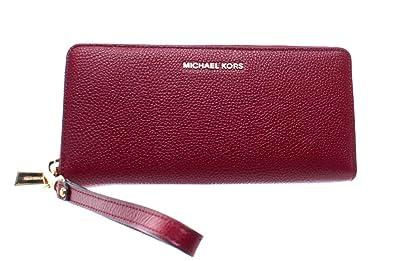 5ec3aee0d3d29 Michael Michael Kors Damen Mercer Telefon Wristlet Geldbörse uni Maroon