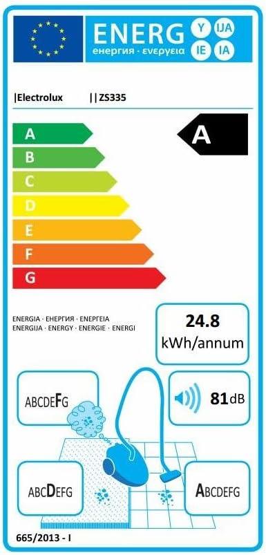 Electrolux zs335 a UltraEnergica escoba eléctrica sin bolsa