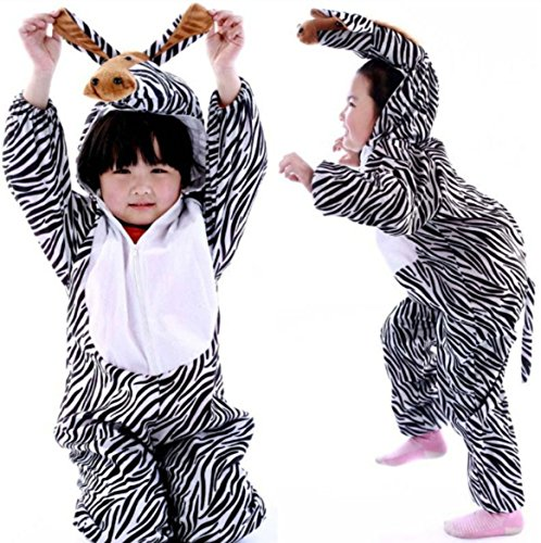 Children Party Costume Cartoon Animal Kids Cosplay Costume Clothes Performance (L(Height 41.3