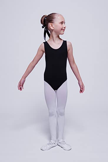 hot pink and purple white tanzmuster girls ballet leotard Lissy pink light blue black with wide straps made of soft and durable cotton blend