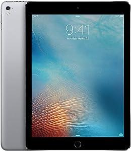 iPad Pro MLMN2CL/A (MLMN2LL/A) 9.7-inch (32GB, Wi-Fi, Space Gray) 2016 Model (Renewed)