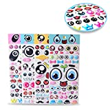 Best Facial Foams - Sticker Sheets, Cute Facial Expression, Eye Foam Sticker Review