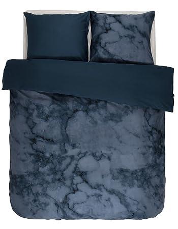Essenza Satin Bettwäsche Romeo Farbe Blue 155x220cm80x80 100