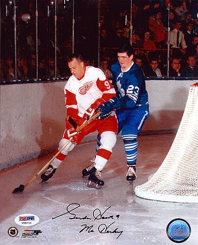 Gordie Howe Signed 8x10 Photograph Detroit Red Wings Mr. ...
