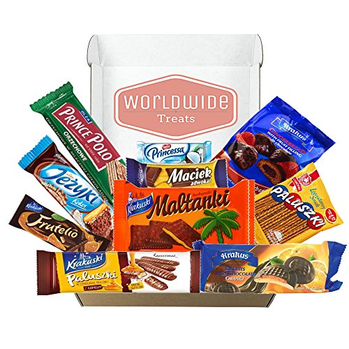 Taste of Poland Snack Package by WorldWideTreats! Snacks from Poland! Ships from - Package Australia Ship To