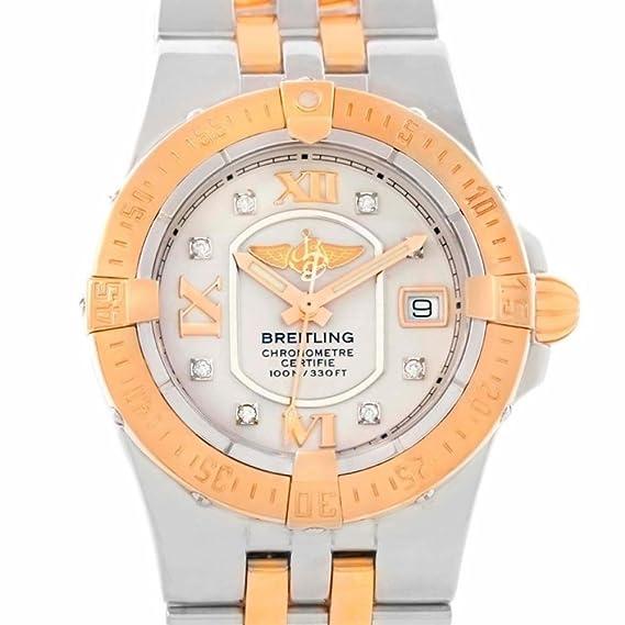 Breitling Galactic - Reloj para mujer c71340 (Certificado) de segunda mano: Breitling: Amazon.es: Relojes