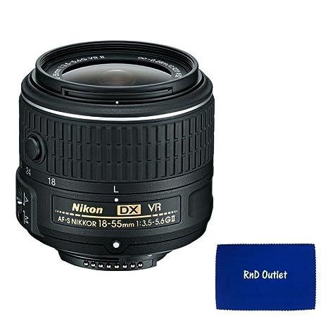 Nikon 18 - 55 mm f/3.5 - 5.6 G VR II AF-S DX NIKKOR Zoom caja de ...