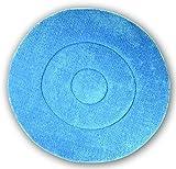 Impact BKL19 Microfiber Carpet Bonnet Pad, 19'' Width, Blue (Case of 6)