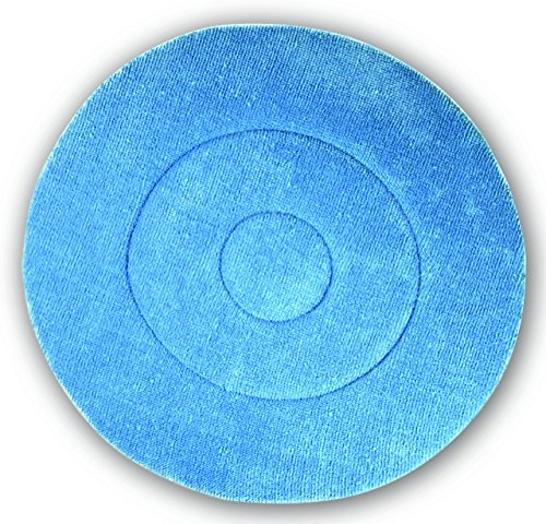 Impact BKL19 Microfiber Carpet Bonnet Pad, 19'' Width, Blue (Case of 6) by Impact Products