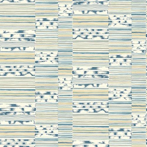 York Wallcoverings Cloud Nine Makisu Removable Wallpaper Blues/Greens