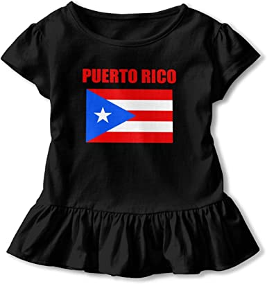 Puerto Rico 2-6 Years Old Boys /& Girls Short-Sleeved T Shirts