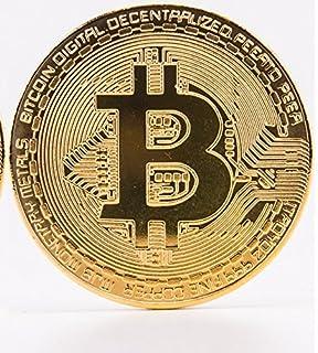 Gold Bitcoin Coins By CryptoNow