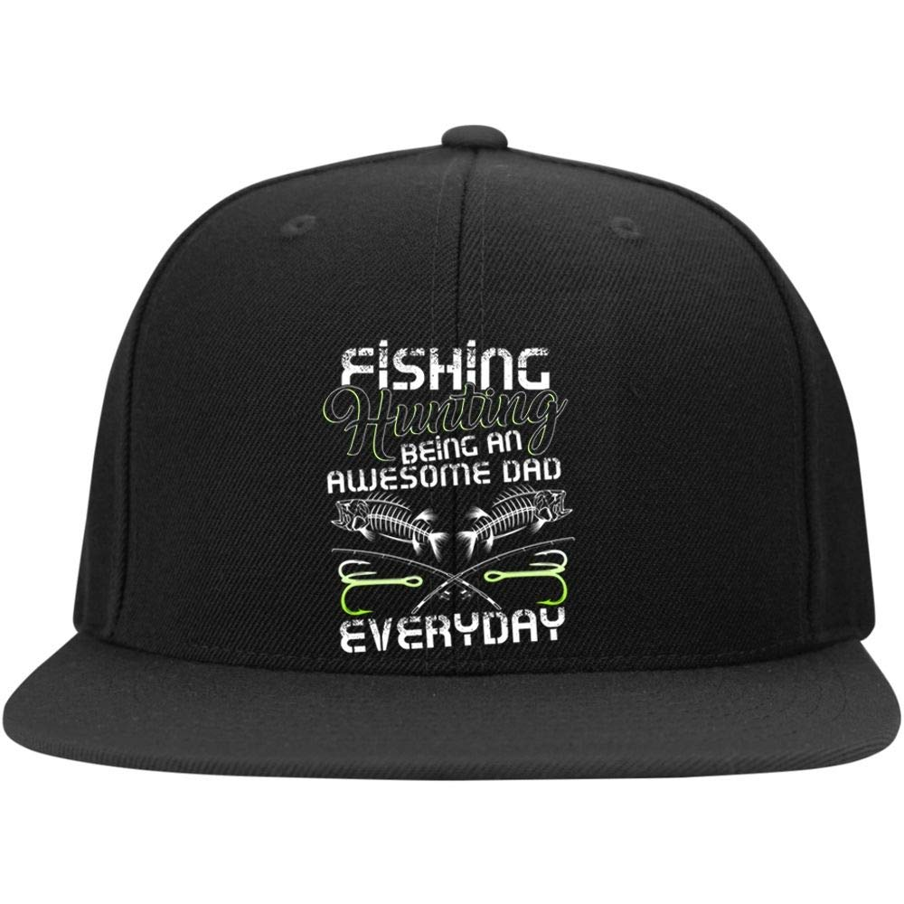 I Love Fishing Cap Being an Awesome Dad Profile Snapback Hat