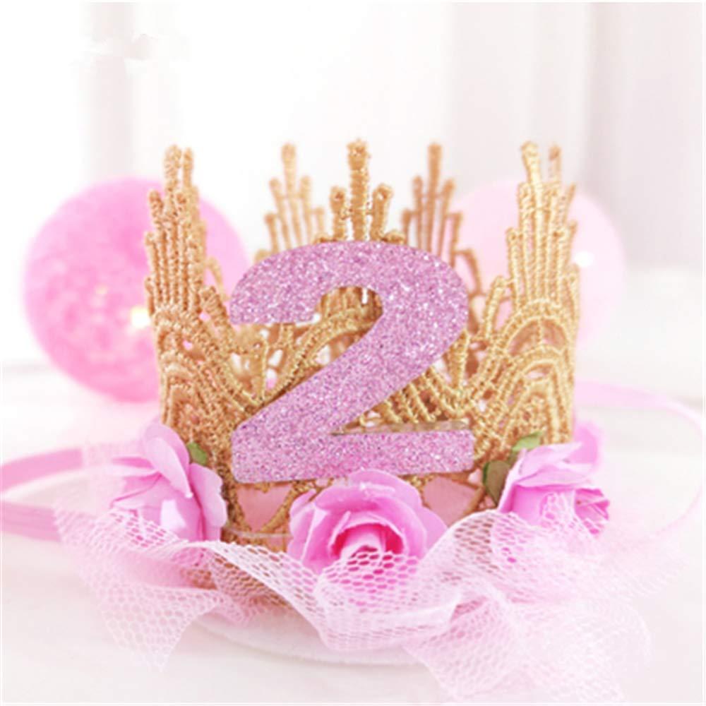 Fiesta de cumpleaños para bebé Princesa creativa con encaje ...
