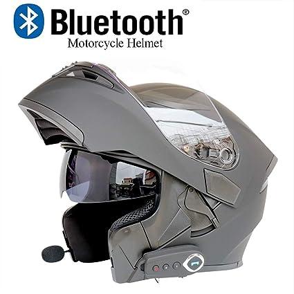 Amazon Com Dym258 Modular Motorcycle Helmets Bluetooth Fm Dot