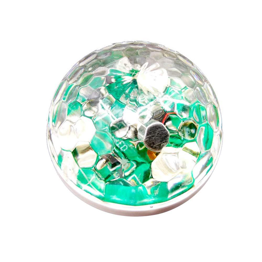 KKmoon Lampe Interieur Voiture N/éon Color/é USB LED RGB Lampe de D/écoration Musique 4pcs