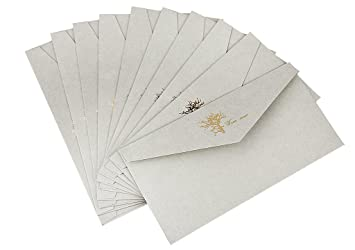 pack of 10 vintage formal invitation envelope pocket envelope 22 x