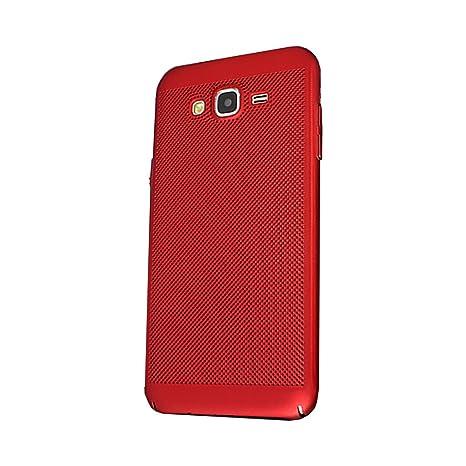 Yunbaozi Funda Samsung Galaxy J5 2015 Hard Protective Case Carcasa Matriz Agujero Pequeño Funda Protector Duro Cáscara Delgado Anti Choque ...