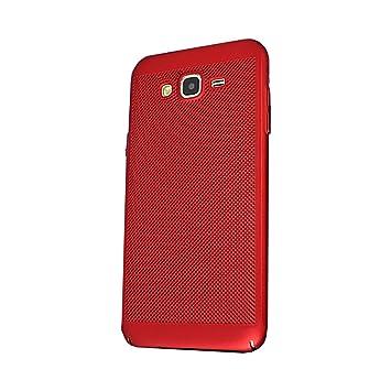 Yunbaozi Funda Compatible para Samsung Galaxy J5 2016 Hard Protective Case Carcasa Matriz Agujero Pequeño Anti Choque Antideslizante Carcasa Samsung ...