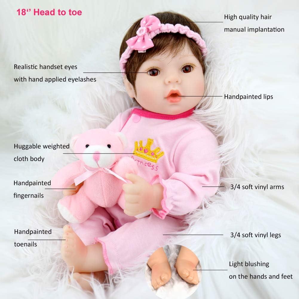 عروسک دخترانه Aori - به همراه ملزومات سرگرم کننده ست نوزاد دختر - جعبه باز Open Box main-1 3