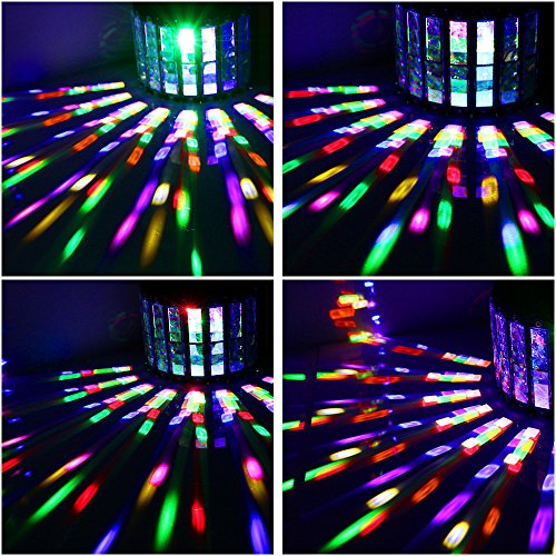 Lalucenatz Dj Lights With 30w Multicolor Led Beams By Ir