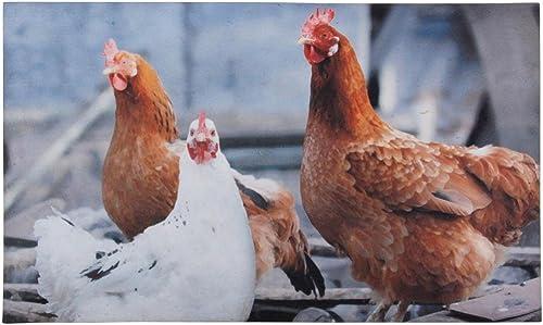Esschert Design Chickens Doormat