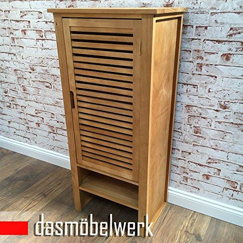 dasmöbelwerk Pinien Holz Kommode Schrank Sideboard Bad Flur Unterschrank Mehrzweckschrank 205553