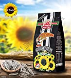 Premium Roasted Sunflower Seeds by Mr.Martina (Ot Martina) with Salt 150 gram Pack of 2