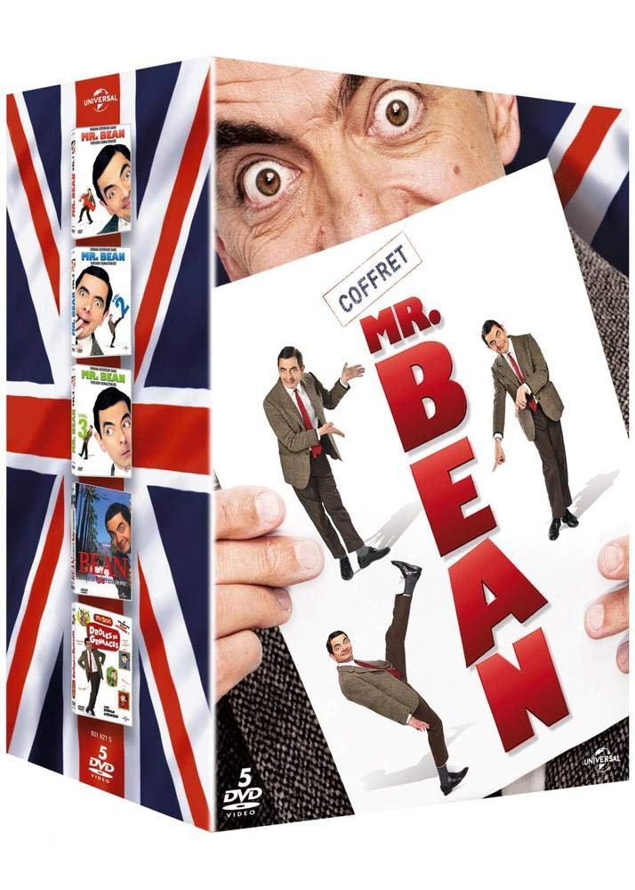 Coffret Mr. Bean 25ème anniversaire : Vol. 1 à 3 + Bean, le film + Drôles de grimaces Francia DVD: Amazon.es: Rowan Atkinson, Ben Elton, Richard Curtis, ...