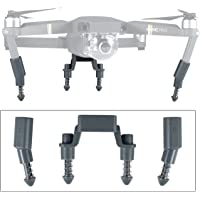 iTrunk Upgraded Compatible Landing Gear Shockproof Anti-Damping Leg Extensions Replacement Compatible DJI Mavic Pro (Grey)