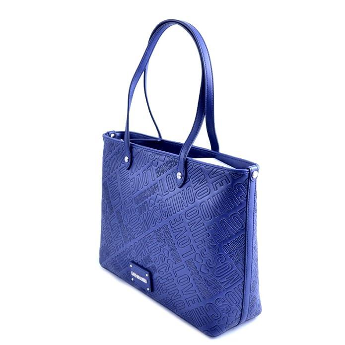 Love Moschino - Bolso al hombro para mujer Azul turquesa taglia unica:  Amazon.es: Zapatos y complementos