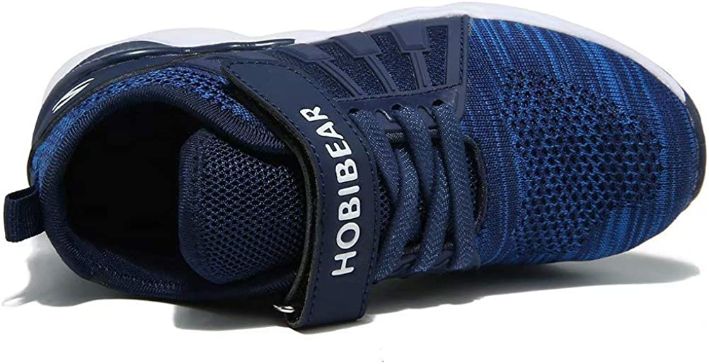 HOBIBEAR Kids Running Shoes Lightweight Mesh Athletic Sneakers /…