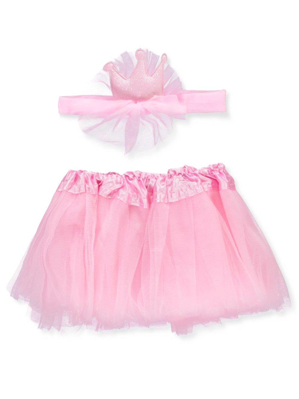 Rising Star Pink Headwrap /& Tutu Set 0-12 Months