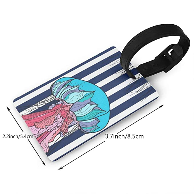 a951833332a5 Amazon.com : Airealy Luggage Tag Two Dandelions Business ID Card ...