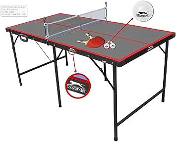Slazenger - Mesa de ping-pong plegable, 1,5 m: Amazon.es ...