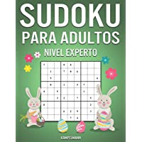 Sudoku Para Adultos Nivel Experto: 300 Sudoku Difíciles, Muy Difíciles y Extremos para Adultos - Edición de Pascua
