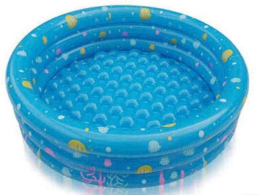 Protección del Medio Ambiente PVC Piscina Inflable Tres Anillos Piscina de Bolas para niños 100 * 40 bebé hogar baño Rectangular Inflable Familia: Amazon.es: Jardín