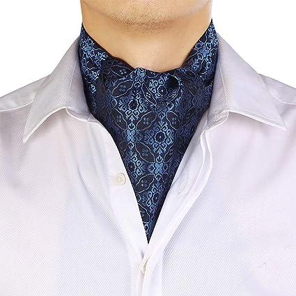 Amazon.com : WYJW Corbatas Bufanda Hombres Impresión Marea ...