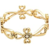 Rosemarie Collections Women's Religious Cross Stretch Bracelet
