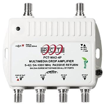 PCT MA24PN amplificador señal de TV - Amplificador de señal de TV (101,6