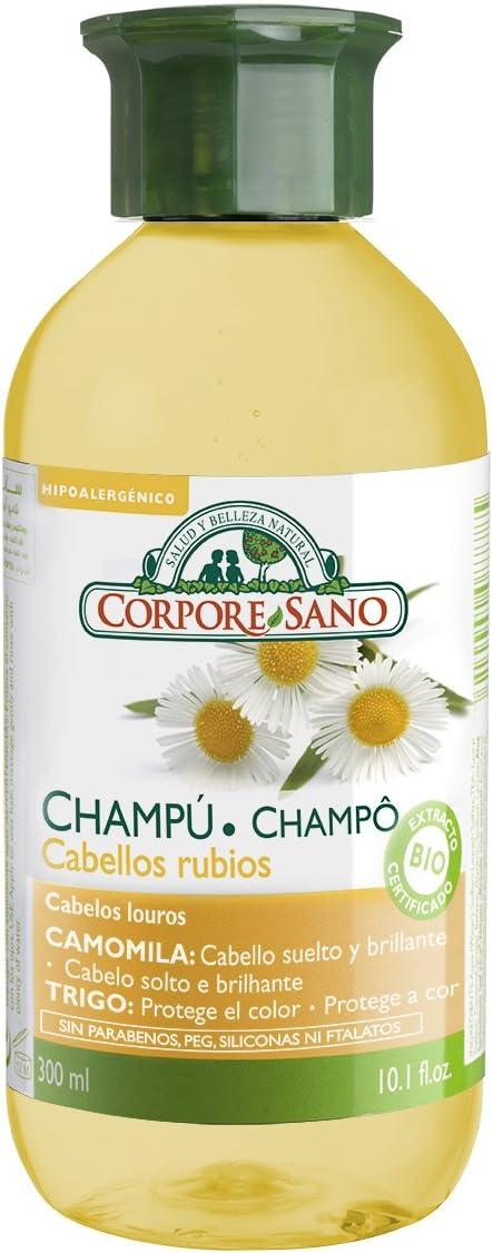 CHAMPU DE CAMOMILA Y TRIGO