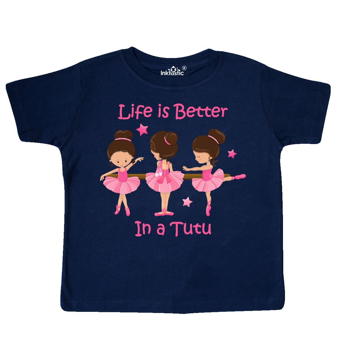 inktastic Lifes Better in a Tutu KS Toddler T-Shirt