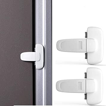 Refrigerator Fridge Freezer Door Lock Latch Catch for Toddler Child Safety od