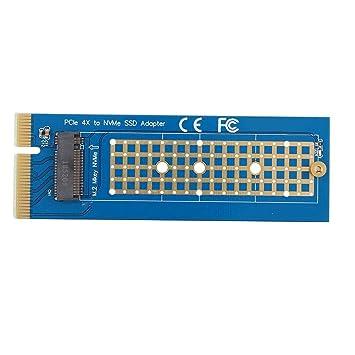 Bewinner Placa Adaptadora SSD,PCI-Express 4X 8X 16X a PCI-e M.2 ...