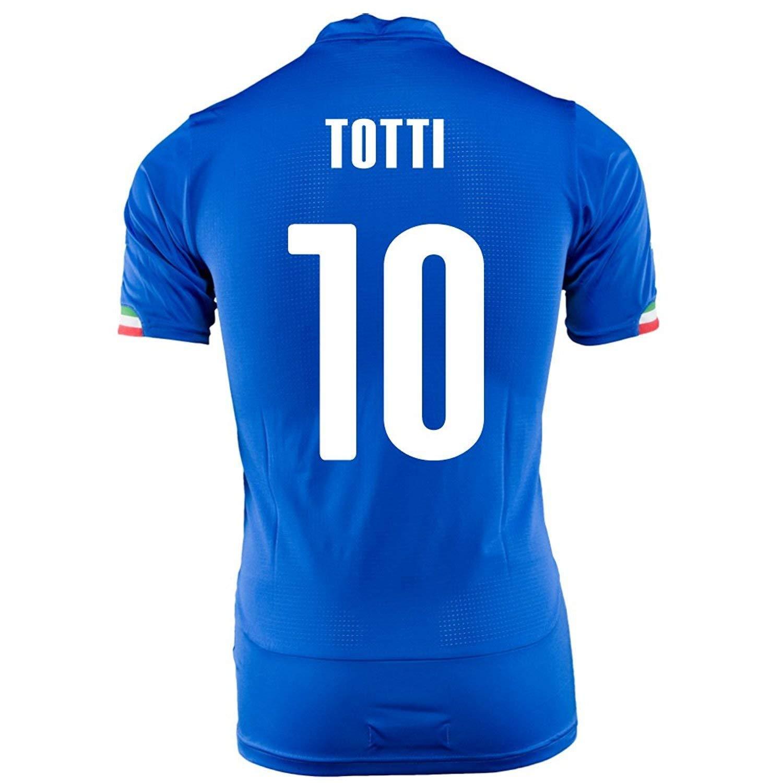 PUMA TOTTI #10 ITALY HOME JERSEY WORLD CUP 2014/サッカーユニフォーム イタリア ホーム用 ワールドカップ2014 背番号10 トッティ B00JSB28M0  Large